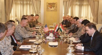 Masoud Barzani meets with US Joint Chiefs chairman