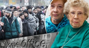 As UK lets thousands flood IN illegally widow aged 91 faces heartbreak of being kicked OUT