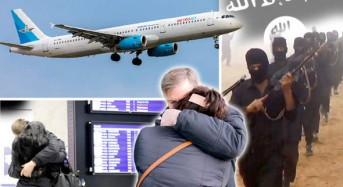 ISIS claim they 'successfully' DOWNED jet over Sinai as revenge for Russian air strikes