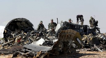 Official: Russian Airliner 'Disintegrated' Over Sinai