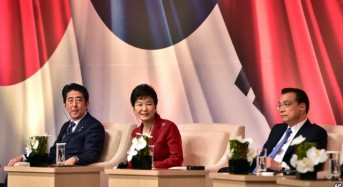 China, Japan, S. Korea Agree to End Diplomatic Stand-Off