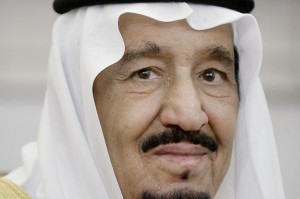 The human-rights group Amnesty International warned the Saudi Arabian government under King Salman, seen here in September, is planning to execute more than 50 people convicted of terrorism. Pool Photo by Olivier Douliery/UPI | License Photo