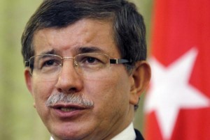 Turkish Prime Minister Ahmet Davutoglu, serving at the time as Turkey's foreign minister, speaks in Tehran, Iran, on July 10, 2011. In a meeting with European leaders in Brussels, Belgium, on Nov. 29, 2015, Davutoglu agreed to a deal in which the E.U. will provide Turkey with more than $3 billion in aid to stop Middle Eastern refugees from traveling to Europe. File photo by Maryam Rahmanian/ UPI | License Photo