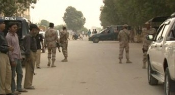 Pakistani Policeman martyred in attack near Super Highway