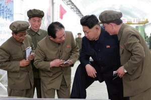 Kim Jong Un's autocratic rule of the country has created uncertainty for many of North Korea's aging elite than in previous regimes. File Photo by Rodong Sinmun/Yonhap