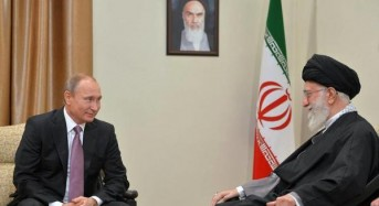 Putin, Khamenei pledge to oppose 'external attempts' to overthrow Assad regime