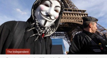Paris attacks: Anonymous begins leaking details of suspected ISIS accounts