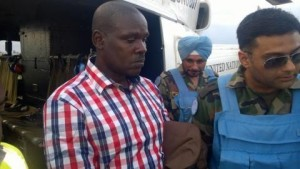 Ladislas Ntaganzwa, left, accused of Rwandan genocide in 1994, was arrested in the Democratic Republic of Congo. Photo courtesy the United Nations Mechanism for International Criminal Tribunals