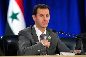 Saudi Arabian Foreign Minister Abdel Al-Jubeir has called on Syrian President Bashar al-Assad, pictured, to step down or be forcibly removed from power during peace negotiations in Riyadh. File photo by UPI | License Photo