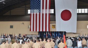 Suspect caught with suspicious package at U.S. air base in Japan