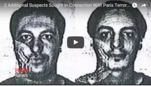2 Additional Suspectes in Connection with Paris Terror, photo YouTube screenshot,thenewmail.