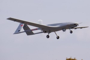 Turkey's first domestically produced Bayraktar TB2 makes Turkey the fifth country to arm an unmanned aerial vehicle. Photo by Bayhaluk