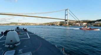 U.S. Navy begins PASSEX exercise with Black Sea navies