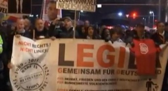 211 arrests after anti-migrant rioters rampage in Leipzig, Germany