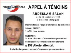 Fingerprint of alleged Paris attacks fugitive found in Brussels