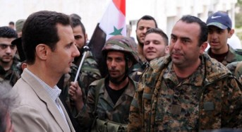 Government forces capture strategic town in southern Syria