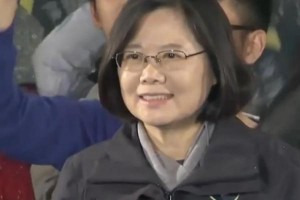 Tsai Ing-wen became Taiwan's first female president on Saturday, defeating opponent Eric Chu 56 percent to 31 percent in the polls. Photo by WSJ video/AOL