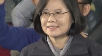 Taiwan elects first female president Tsai Ing-wen