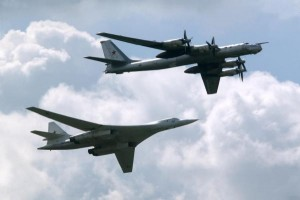 British-air-force-fighter-jets-intercept-Russian-bombers-near-British-airspace