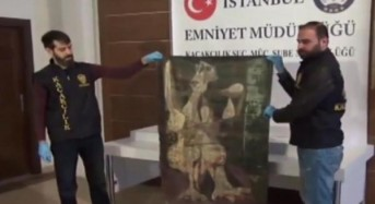 Turkish police seize stolen Picasso painting