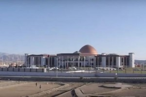 Rocket-hits-Afghan-parliament-building