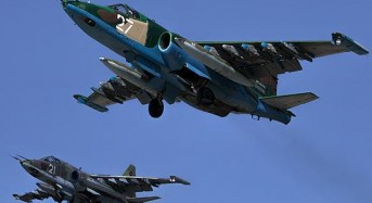 Russian fighter plane crashes, pilot killed