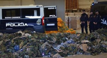 Spain seizes 20,000 uniforms headed for Islamic State