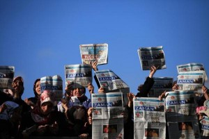 Turkish-police-raid-Zaman-newspaper-after-government-acquisition