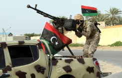Seven killed in clashes between armed groups west of the Libyan capital