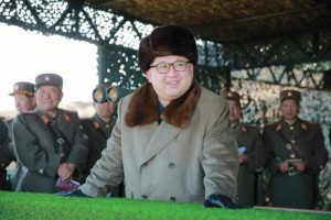 Kim Jong Un orders missile launches whenever he's irritated by U.S. policy, Kenji Fujimoto said. File Photo by Rodong Sinmun