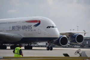 Object that struck plane over London 'not a drone'