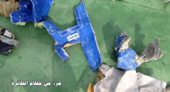 First images of EgyptAir Flight MS804 debris released as search continues