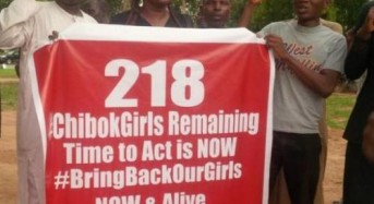 First of missing 219 Nigerian schoolgirls found alive, says others are in forest nearby