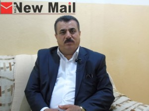 Hussein Qaidi, an office director for rescuing yazadi women.