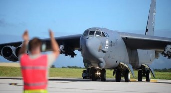 U.S. Air Force B-52 bomber crashes in Guam, crew escapes injury