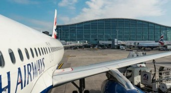 Man arrested at London's Heathrow airport on suspicion of terrorism, police say