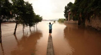 More than 400,000 people evacuated as tropical storm hits China