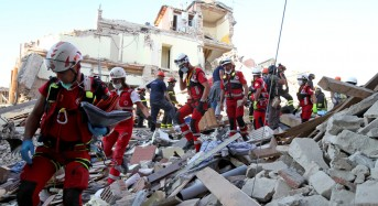 Our Condolences for Victims of Italy's Earthquake