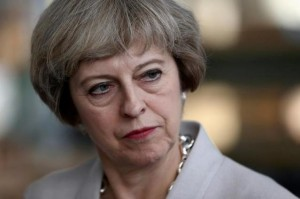 Prime Minister Theresa May visits a joinery factory in London, Britain August 3, 2016. REUTERS/Neil Hall/File Photo