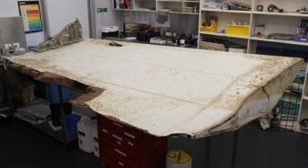 Large airplane flap found in Tanzania matches missing MH370