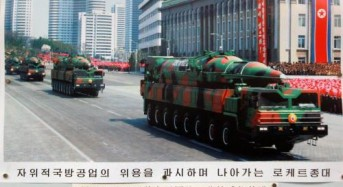 Report: North Korea assembling rail-based missile launchers
