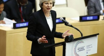 British PM May agrees to involve Parliament in Brexit talks