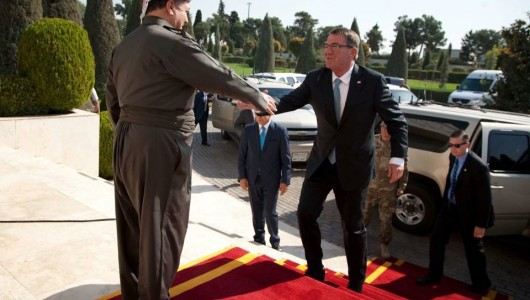 Pentagon chief in Kurdistan to review Mosul offensive