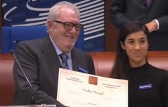 Woman who survived kidnapping by ISIS wins human rights prize