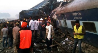 At least 100 people killed, 40 seriously injured in India train derailment