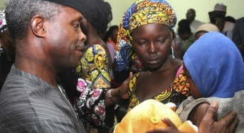 Nigerian troops rescue Chibok girl kidnapped by Boko Haram