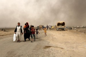 un-40-mosul-civilians-shot-killed-hung-from-power-poles-by-islamic-state