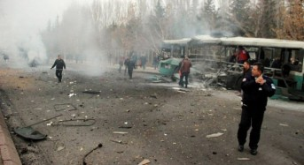 Deadly blast hits bus carrying soldiers in Turkish city of Kayseri