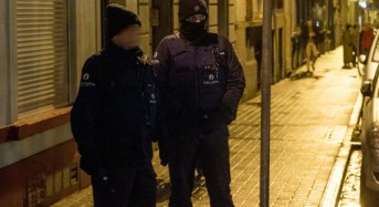 Police hold 3 after Brussels anti-terror raids