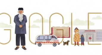 Google honors philanthropist Abdul Sattar Edhi with new Doodle